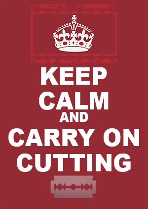 Keep Calm and cut Avatar
